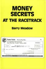 Money Secrets At The Racetrack by Barry Meadows